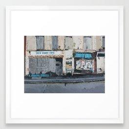New Rimini Cafe Framed Art Print