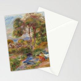 "Pierre-Auguste Renoir ""Paysage du Midi"" Stationery Cards"