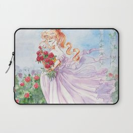 Princess Serenity with Roses Laptop Sleeve