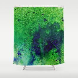 Abstract No. 33 Shower Curtain