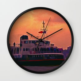 The Royal Iris Wall Clock