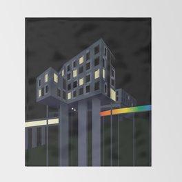 Carnegie Mellon's Gates Hillman Computer Science Center Throw Blanket