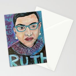 RBG . May Her Final Wish Be Granted Stationery Cards