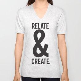 Relate & Create Unisex V-Neck