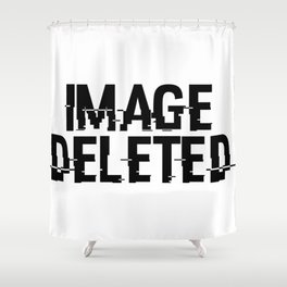 IMAGE DELETED Shower Curtain