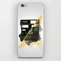polaroid iPhone & iPod Skins featuring Polaroid by condemarin