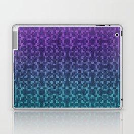 Pixel Patterns Green/Purple Laptop & iPad Skin