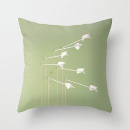 Modest Mouse - Good News for People Who Love Bad News Throw Pillow
