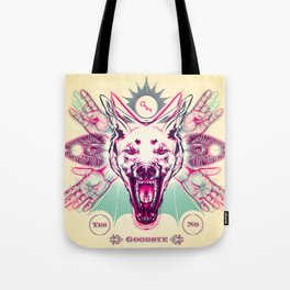 Savage Future - Anaglyph Tote Bag