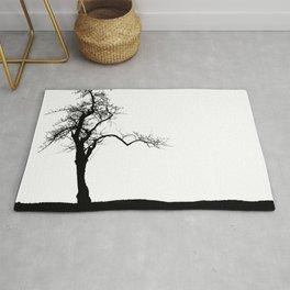 Einsamer Baum Rug