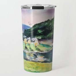 Purple Dusk Travel Mug
