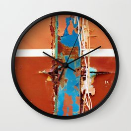 Ravages of time II Wall Clock