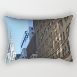 Chrysler Building, New York City. Rectangular Pillow