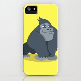 Gary Gorilla iPhone Case