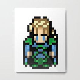 Final Fantasy III - Edgar Metal Print