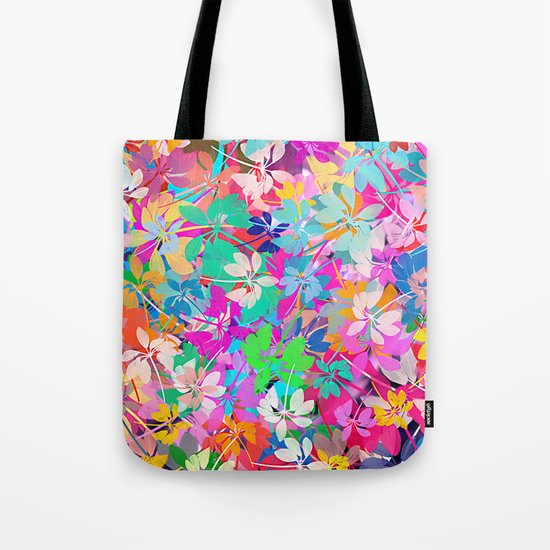 Floral abstract(47). Tote Bag