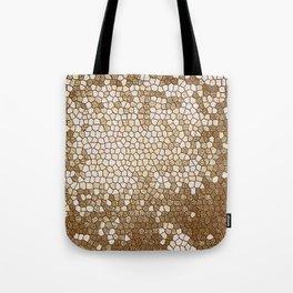 Glitter Beautiful Golden Design Pattern Tote Bag