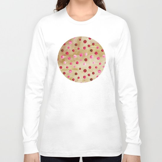 Polka Dot Pattern 04 Long Sleeve T-shirt