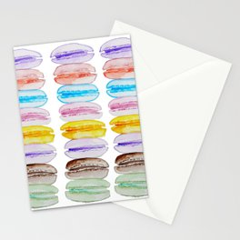 French Macaron Stationery Cards
