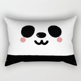 Pandamic Mask Rectangular Pillow