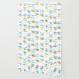 Paper Clips Pattern Wallpaper