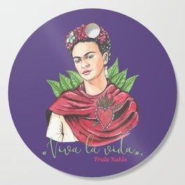 Frida Viva la vida Cutting Board