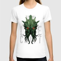 lovecraft T-shirts featuring H.P. Lovecraft by MikeRush