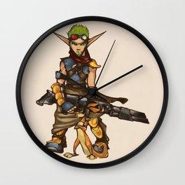 Jak&Daxter Wall Clock