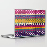 mexican Laptop & iPad Skins featuring Mexican Pattern by Eleaxart