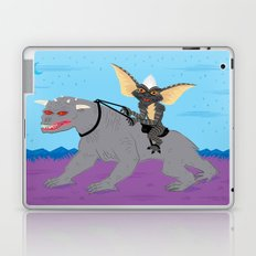 The Halloween Series - Stripe Rides Zuul Laptop & iPad Skin