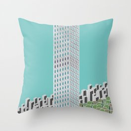 432 Park Ave Throw Pillow