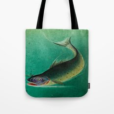 Stained Glass Fish - 1 Tote Bag