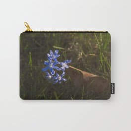 Fall Leaf Flowers in Spring Carry-All Pouch
