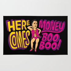 Here Comes Money Boo-Boo Rug