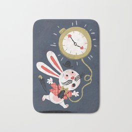 White Rabbit - Alice in Wonderland Bath Mat