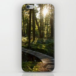 North Shore Trails in the Woods iPhone Skin