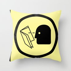 Wise Up Throw Pillow