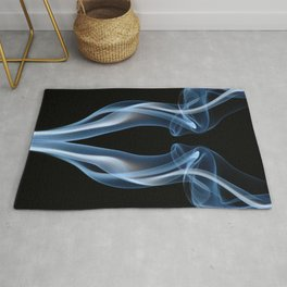 9061 Smoke and Mirrors Reveal Feminine Flow of Energy in Free Space, Rug
