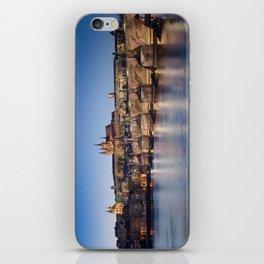 Prague Castle and Charles Bridge iPhone Skin