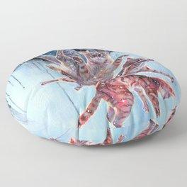 Felinoid Fall Floor Pillow