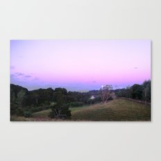 Strange Moon Rising Canvas Print