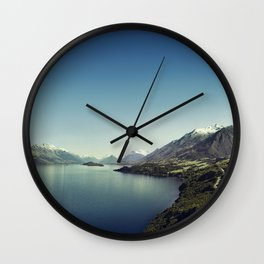 On my way to Glenorchy (Things happened to me) Wall Clock