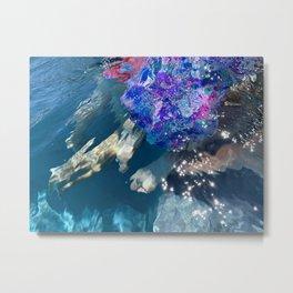 Unique Underwater Art - No Edit Metal Print