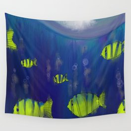 Beneath the Sea Wall Tapestry