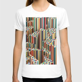 Stretched Pattern T-shirt