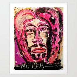 Disco Jesus Art Print