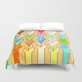 Peace II Duvet Cover