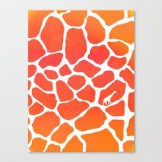 Giraffe Print | Animals Canvas Print