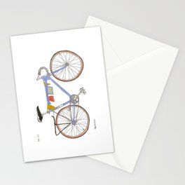 Blue Bike no 12 Stationery Cards
