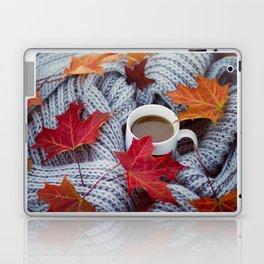 autumn coffee Laptop & iPad Skin